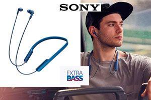 Oferta auriculares Sony MDR-XB70BT baratos amazon