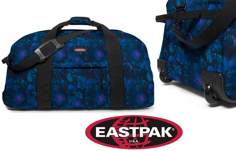 1bef27017 Oferta bolsa de viaje con ruedas Eastpak Warehouse por 36 euros.
