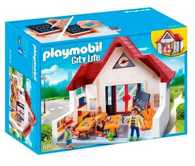 Oferta juguetes de playmobil baratos colegio