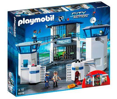 Oferta juguetes de playmobil baratos comisaria con carcel