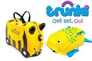 Oferta set de maleta y mochila Trunki baratos amazon