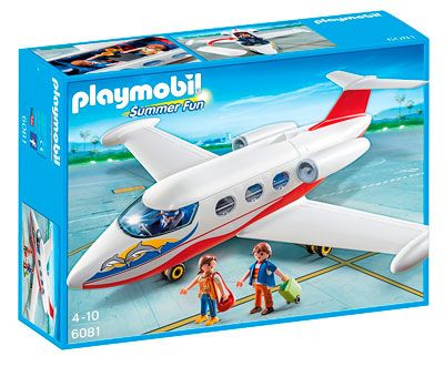Oferta juguetes de playmobil baratos avión de vacaciones