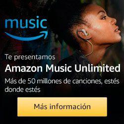 Promoción Amazon Music Unlimited Black Friday 2017