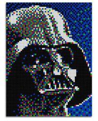 Oferta cuadro Pixel Art Darth Vader