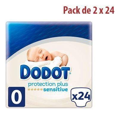 Oferta 48 pañales Dodot Protection Plus Sensitive Pañales Talla 0 barata