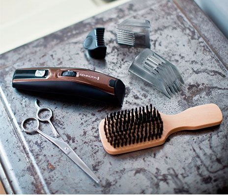 Oferta barbero inalámbrico Remington MB4045 Beard Kit barato amazon