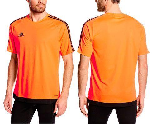 Oferta camiseta Adidas Estro naranja barata amazon