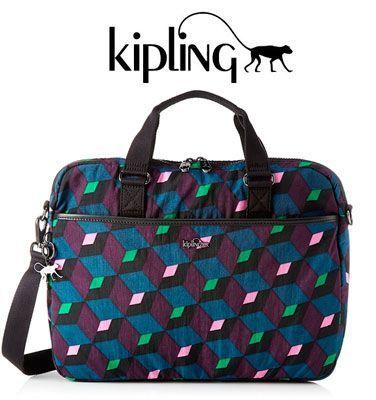 Oferta bolsa para portátil Kipling Kaytlin barata amazon