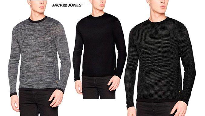 Oferta suéter Jack & Jones Jcomaize barato amazon, chollos ropa de marca barata amazon