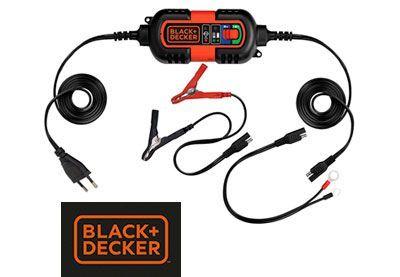 Oferta cargador-mantenedor de baterías Black + Decker BDV090 barato amazon