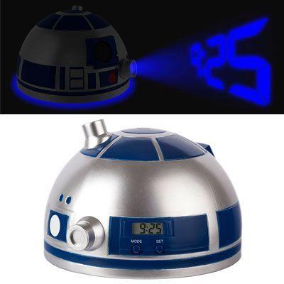 Oferta reloj despertador Star Wars R2D2 con luces y sonidos barato amazon