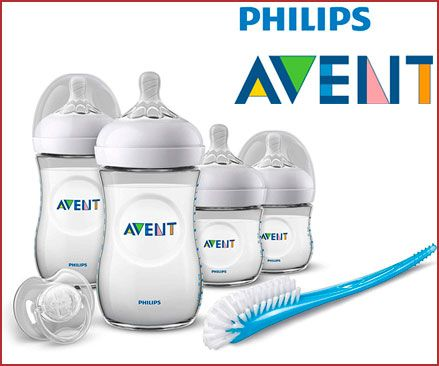 Oferta set regalo gama Natural Philips Avent recién nacido