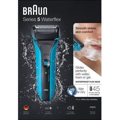 Oferta afeitadora Braun Series 5 WaterFlex WF2s barata amazon