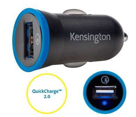 Oferta cargador de coche Kensington PowerBolt barato amazon