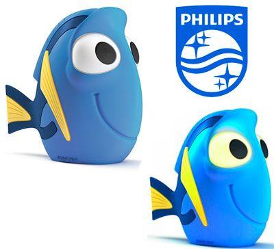 Oferta lámpara para niños Philips Disney Dory barata amazon