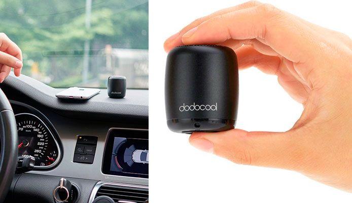 Oferta mini altavoz bluetooth Dodocool barato amazon