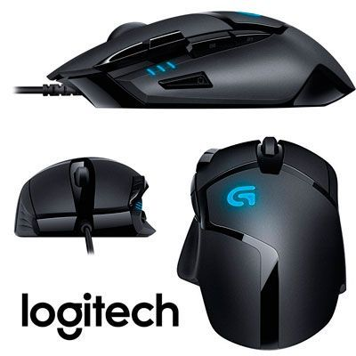 Oferta ratón para gaming Logitech Hyperion Fury G402 barato amazon