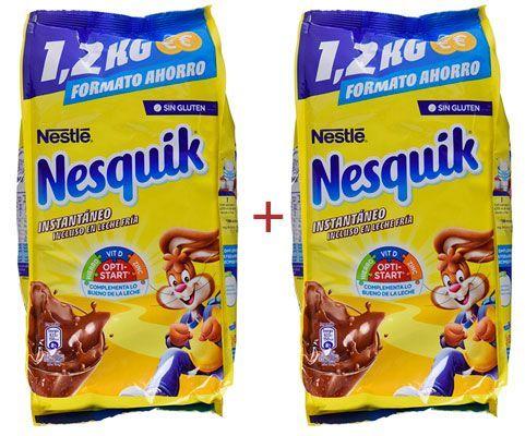 Oferta 2 paquetes de Nesquik instantáneo barato amazon