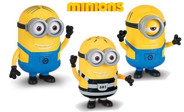 Oferta Minions figura grande con voz 3 modelos baratas amazon