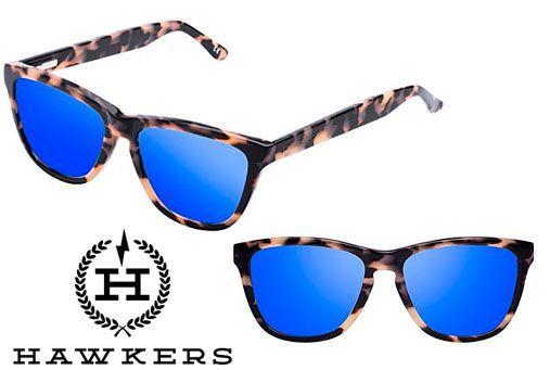 Oferta gafas de sol Hawkers Caramel Carey Sky baratas amazon