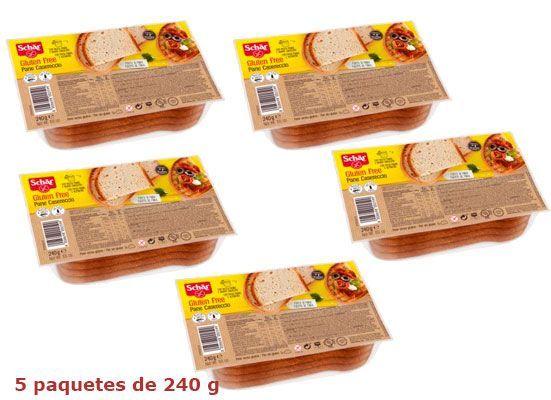 Oferta 5 paquetes Dr. Schar Pane Casereccio baratos amazon
