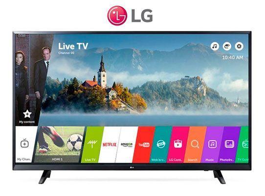 Oferta Smart TV LG 55UJ620V 55 pulgadas Ultra HG 4K barata