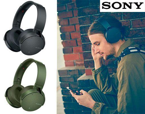 Oferta auriculares Sony MDR-XB950N1B inalámbricos Extra Bass baratos amazon