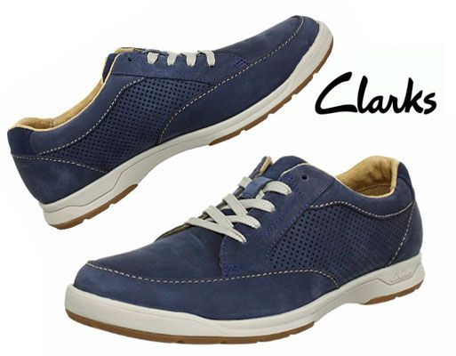 Oferta zapatos Clarks Stafford Park5 azules baratos amazon