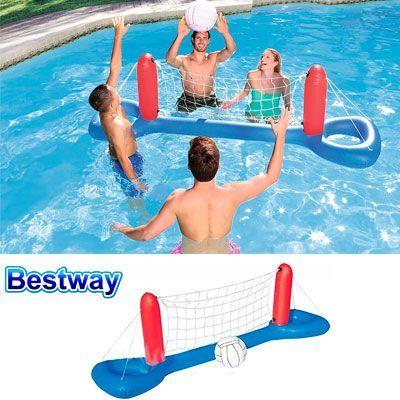 Oferta Bestway Juego de voleibol flotante barato amazon