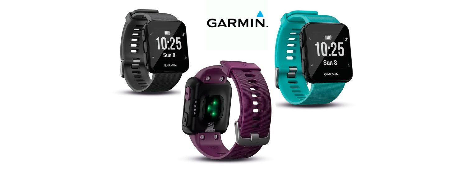 c18c13555f52 Oferta reloj con pulsómetro y GPS Garmin Forerunner 30 por solo 99 euros.  ¡Precio mínimo histórico! - Más Que Ofertas