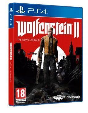 Oferta Wolfenstein II The New Colossus PS4 barato amazon