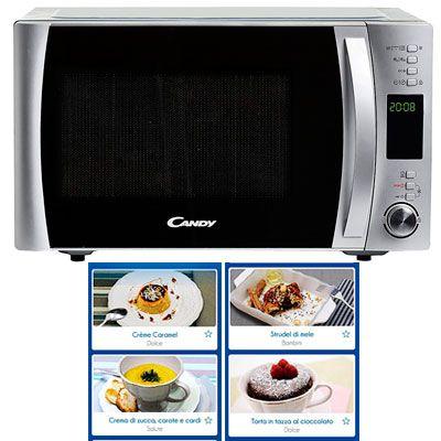 Oferta microondas con grill Candy CMXC30Dcs barato amazon