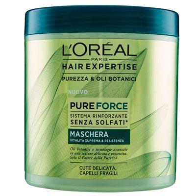 Oferta mascarilla L 'Oréal Hair Expertise Mask Pure Force barata amazon