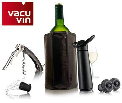 Oferta set Vacu Vine Wine Essentials barato amazon