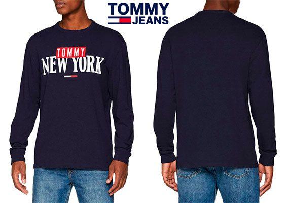 Oferta sudadera Tommy Jeans New York Tee barata amazon