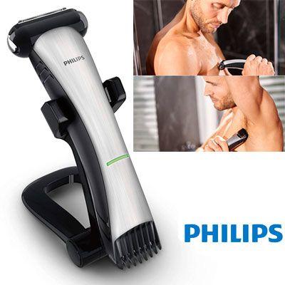Oferta afeitadora corporal Philips BodyGroom TT2040 barata