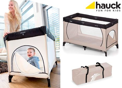 Oferta cuna de viaje Hauck Dream'n Play Plus barata 12112018
