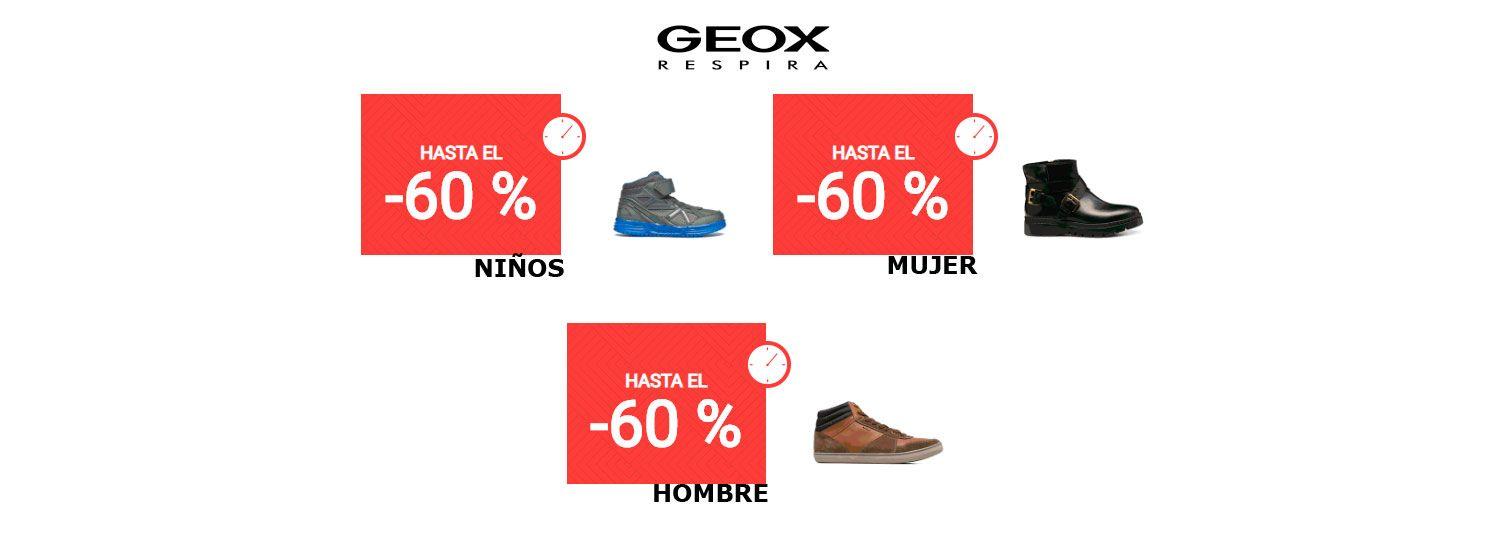 En Promoción Con Calzado De 60 Descuentos Geox El Sarenza Hasta 0wmN8vn
