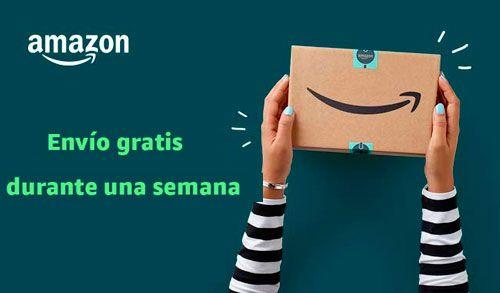 Semana de envío gratis en Amazon España