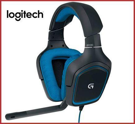 Oferta auriculares de gaming Logitech G430 baratos
