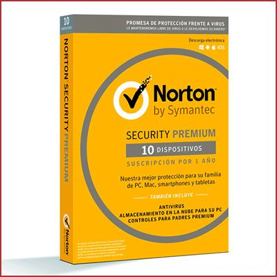 Oferta antivirus Norton Security Premium barato