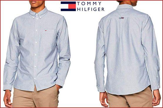 Oferta camisa Tommy Hilfiger Oxford barata