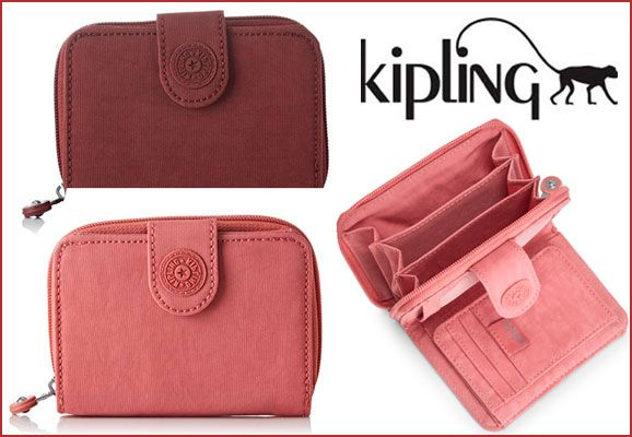 Oferta cartera Kipling New Money barata