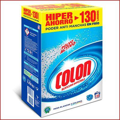 Oferta detergente Colon Polvo Activo barato