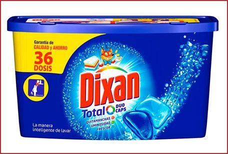 Oferta detergente Dixan Duo-Caps 36 lavados barato