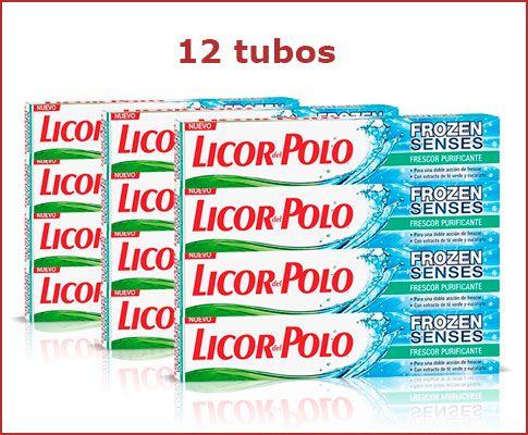Oferta pack de 12 Licor del Polo Frozen Senses baratos