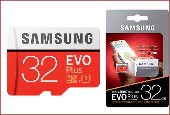 Oferta tarjeta de memoria Samsung EVO Plus 32GB barata