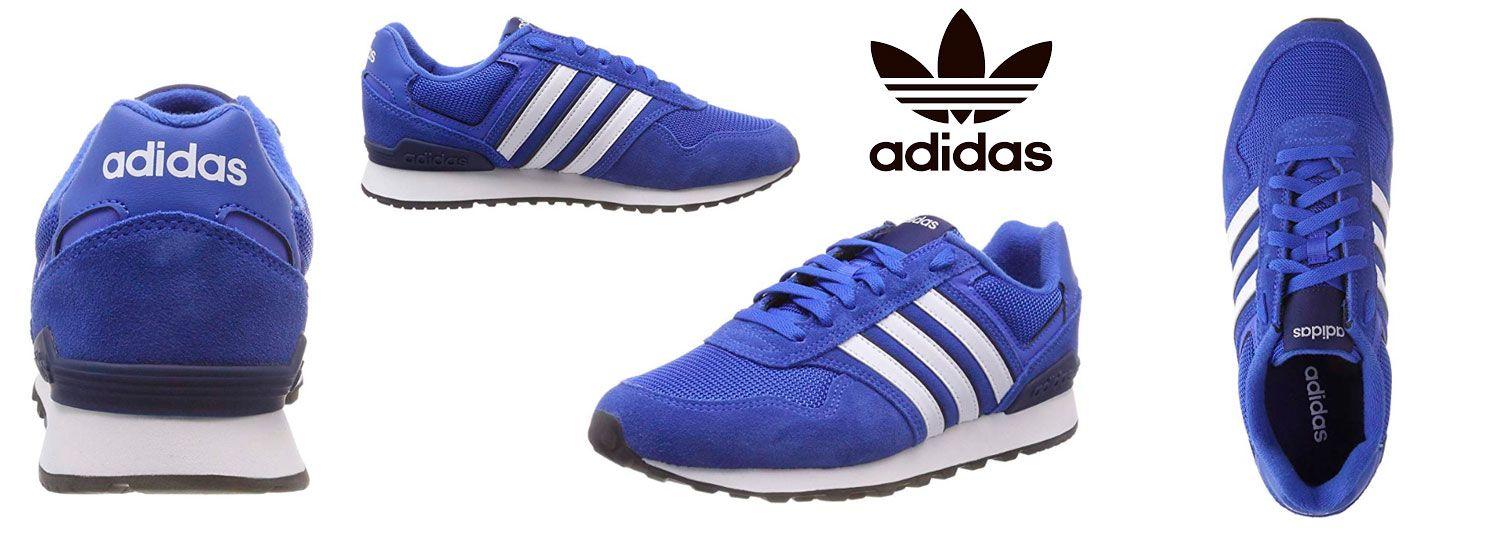 detailed look 3f05b c21b5 Oferta zapatillas Adidas Runeo 10K de hombre por 39,95 euros. Descuento del  50%. - Más Que Ofertas