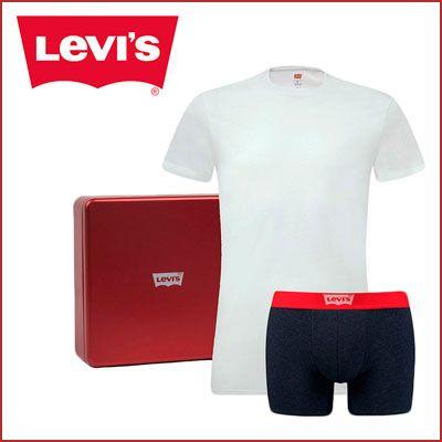 Oferta Levi's Giftbox camiseta y boxer barato