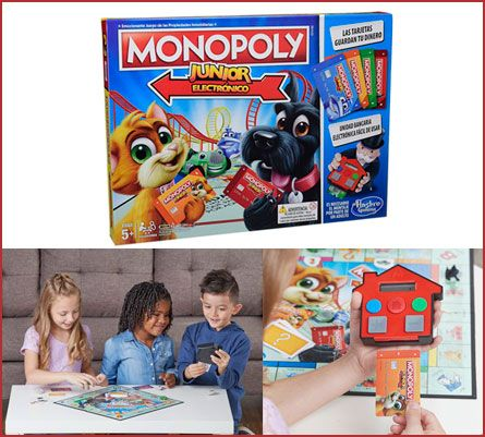 Oferta Monopoly Junior Electrónico